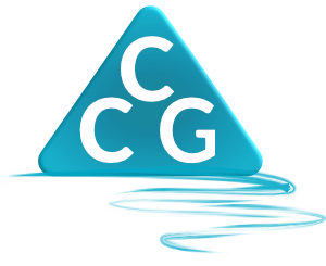 Coastal Creatives Guild CCG logo. A web design, search engine optimization or SEO, user experience or UX agency.